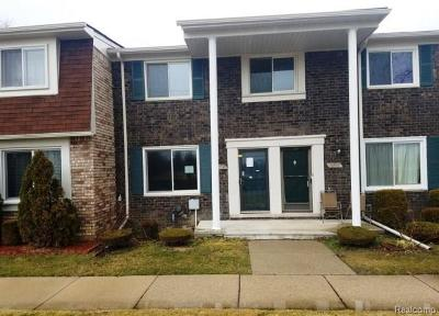 Sterling Heights MI Condo/Townhouse For Sale: $100,200