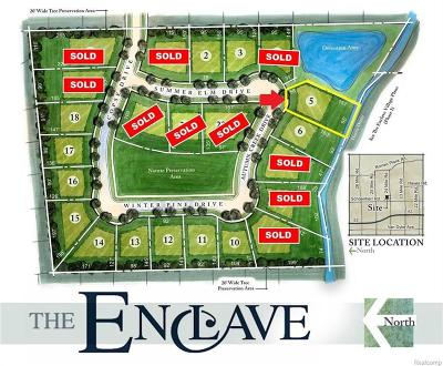 Shelby Twp Residential Lots & Land For Sale: 14138 Autumn Creek