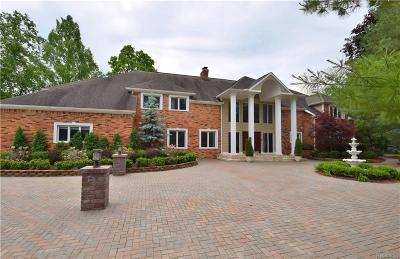 Bloomfield Hills Single Family Home For Sale: 102 Endicott Rd