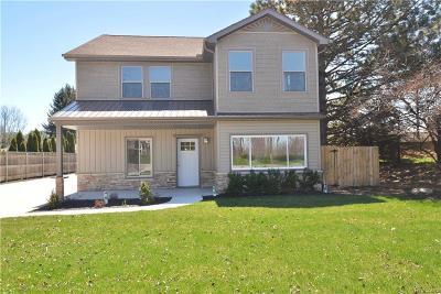 Belleville Single Family Home For Sale: 51257 W Huron River Dr