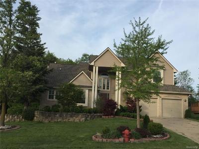Farmington Hills Single Family Home For Sale: 28240 Golf Pointe Blvd