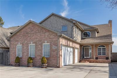 Saint Clair Shores Single Family Home For Sale: 33904 Jefferson Ave