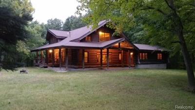 Lapeer Single Family Home For Sale: 4849 Danbi Dr