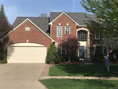Rochester Single Family Home For Sale: 1280 Tulberry Cir