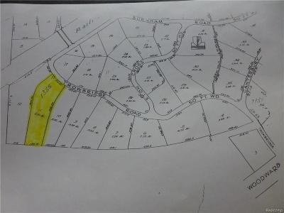 Bloomfield Hills Residential Lots & Land For Sale: 1355 Trowbridge Rd
