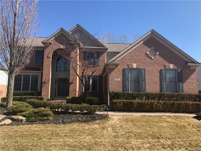 Rochester Single Family Home For Sale: 5225 Creekmonte Drive