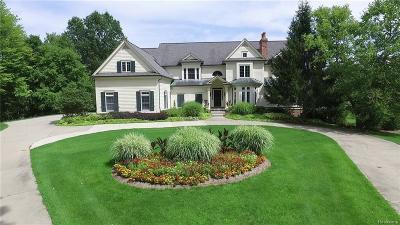 Lapeer Single Family Home For Sale: 1840 E Brocker Rd