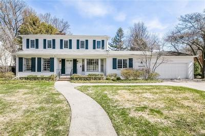 Grosse Pointe Farms Single Family Home For Sale: 88 Cloverly Rd