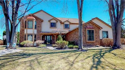 Shelby Twp Single Family Home For Sale: 54256 Sherwood Ln
