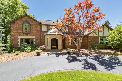 Rochester Hills Single Family Home For Sale: 430 Mead Rd
