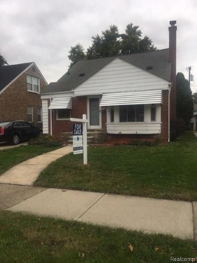 Allen Park Single Family Home For Sale: 6642 Shenandoah Ave N