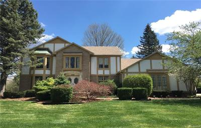 Troy Single Family Home For Sale: 6490 Tanglewood Dr