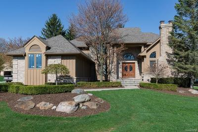 Rochester Hills Single Family Home For Sale: 580 Carlo Crt