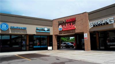 Commercial Lease For Lease: 37864 Van Dyke