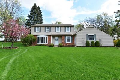 Rochester Single Family Home For Sale: 5065 Aintree Crt