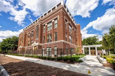 Detroit Condo/Townhouse For Sale: 1454 Townsend