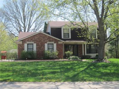 Farmington Hills Single Family Home For Sale: 23928 Scott Dr