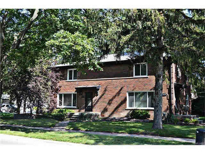 Huntington Woods Single Family Home For Sale: 13370 Ludlow St