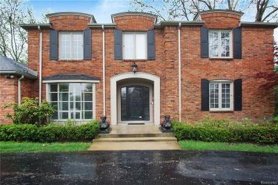 Franklin Single Family Home For Sale: 25125 Franklin Park Dr