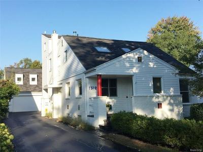 Birmingham Single Family Home For Sale: 1512 Washington Blvd
