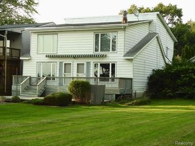 Algonac Single Family Home For Sale: 3233 Pointe Tremble Rd