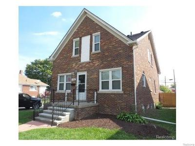 Lincoln Park Single Family Home For Sale: 1705 Fort Park Blvd