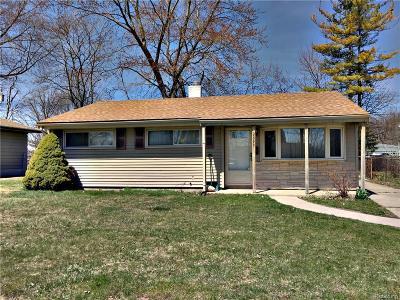 Port Huron Single Family Home For Sale: 2893 Mason Ave