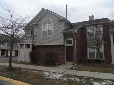 Clinton Township Condo/Townhouse For Sale: 16523 Glenpoint Dr