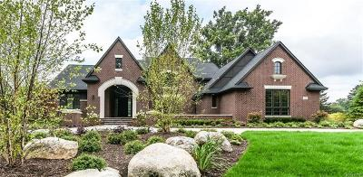 Bloomfield Hills Single Family Home For Sale: 1248 Cedarholm Ln