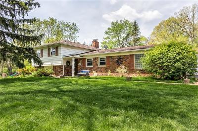 Bloomfield Hills Single Family Home For Sale: 7084 Lahser Rd
