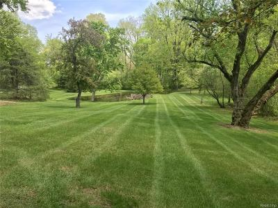 Franklin Residential Lots & Land For Sale: 32820 Wing Lake Rd