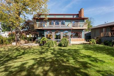 Lake Orion Single Family Home For Sale: 111 Park Island Dr