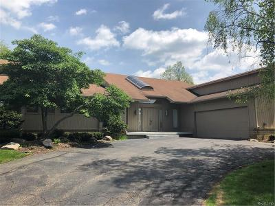 West Bloomfield Single Family Home For Sale: 4019 Winterset Ln