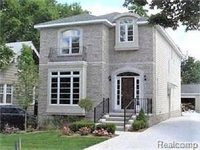 Birmingham Single Family Home For Sale: 444 Park St