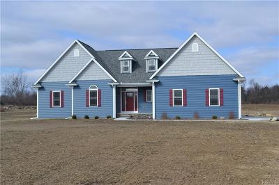 Lapeer Single Family Home For Sale: 4084 Green Corners Rd