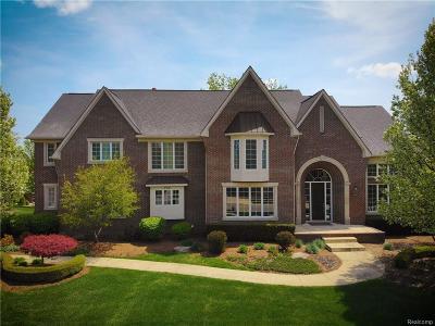 Rochester Hills Single Family Home For Sale: 734 Wellington Cir