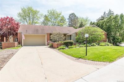 Bloomfield Hills Condo/Townhouse For Sale: 1024 Stratford Plc