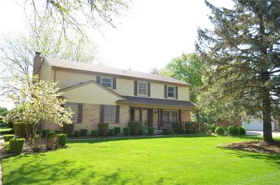 Farmington Hills Single Family Home For Sale: 28842 W King William Dr