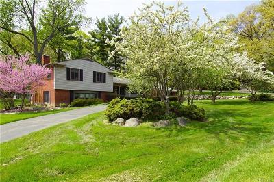 Franklin Single Family Home For Sale: 31021 McKinney Dr