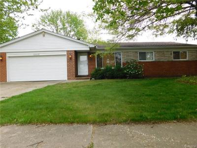 Clinton Township Single Family Home For Sale: 23516 Thornton St