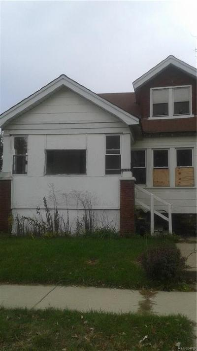 Detroit Single Family Home For Sale: 16155 San Juan Dr