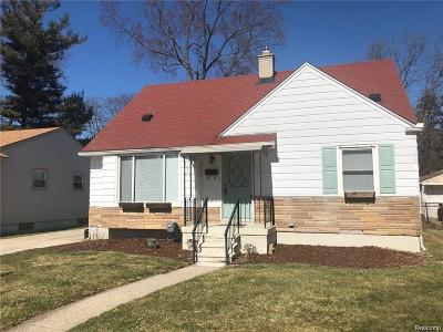 Royal Oak Single Family Home For Sale: 1117 E Windemere Ave