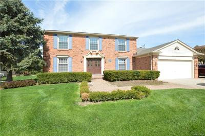 Troy Single Family Home For Sale: 4645 Tipton Dr