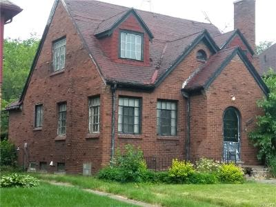 Detroit Single Family Home For Sale: 11091 McKinney St