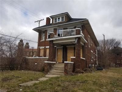 Detroit Multi Family Home For Sale: 4114 W Philadelphia St