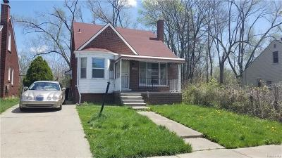 Detroit Single Family Home For Sale: 9230 Ward St