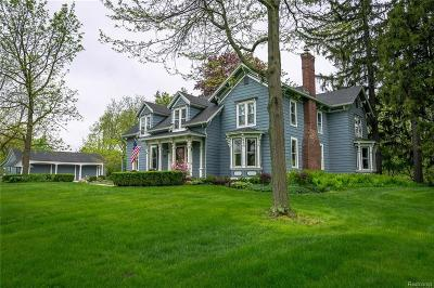 Franklin Single Family Home For Sale: 32805 Wing Lake Rd