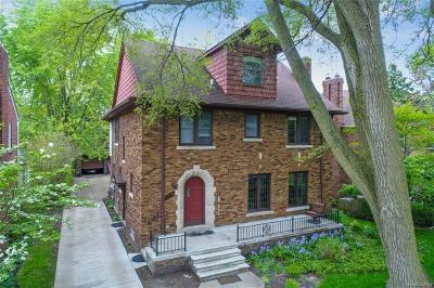 Grosse Pointe Park Single Family Home For Sale: 1318 Audubon Rd.