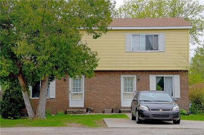 St. Clair Multi Family Home For Sale: 2627 Keewahdin Rd