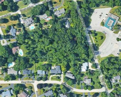 Bloomfield Hills Residential Lots & Land For Sale: 7280 Wing Lake Rd